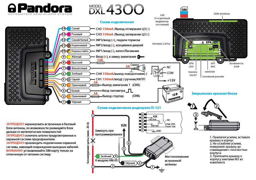 pandora dxl 4300 pandora. Black Bedroom Furniture Sets. Home Design Ideas